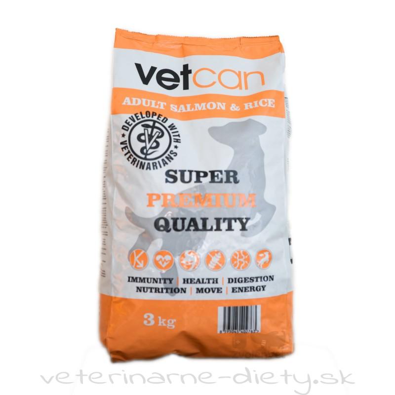 VETCAN Adult Salmon & Rice 3 kg