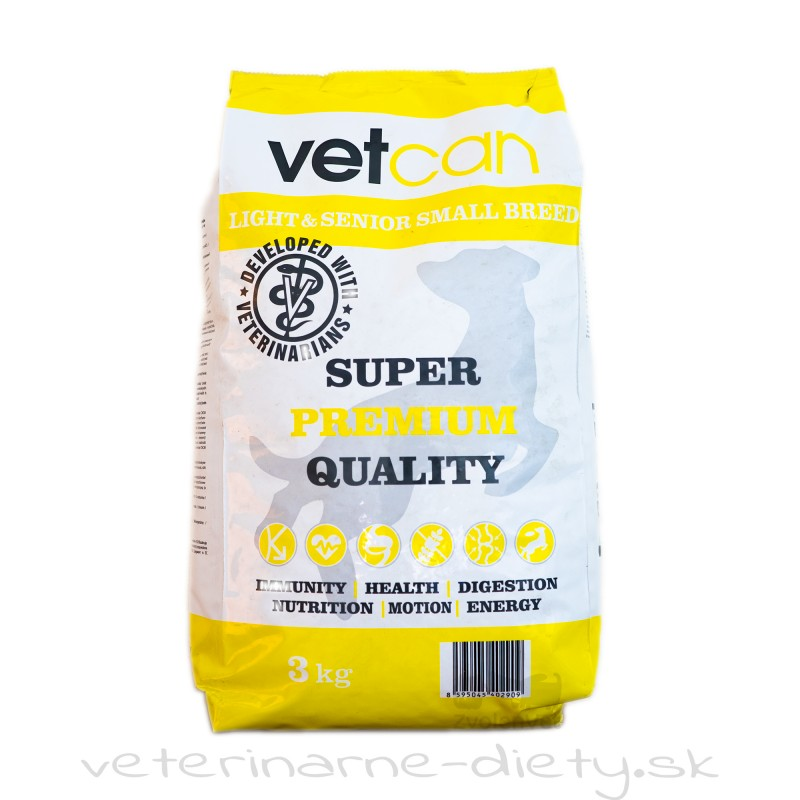 VETCAN Senior small dog 3 kg