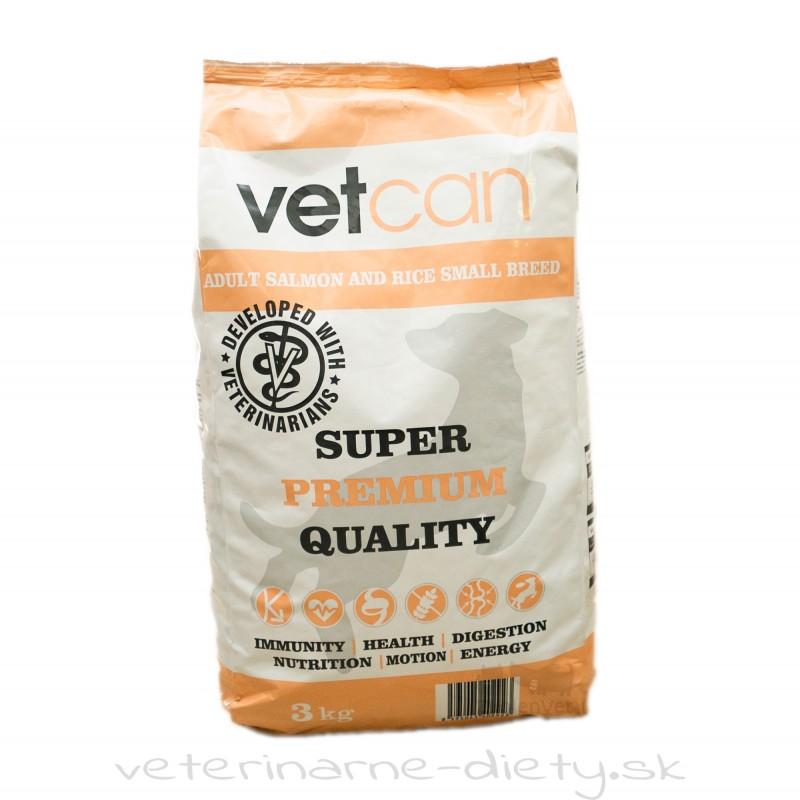 VETCAN Salmon & Rice Small Breed 3 kg