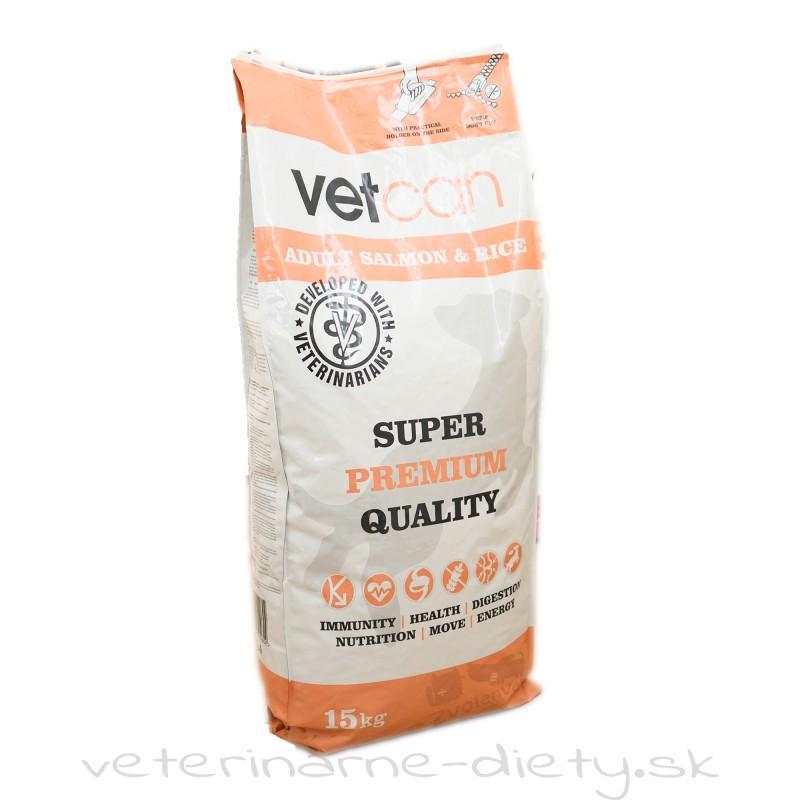 VETCAN Salmon & Rice 15 kg