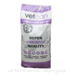 VETCAN Adult Lamb & Rice 15 kg