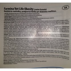 Farmina Vet Life dog Obesity 2 kg