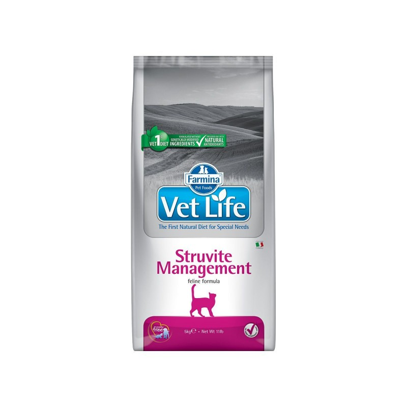 Farmina VET LIFE Cat Struvite Management 10 kg