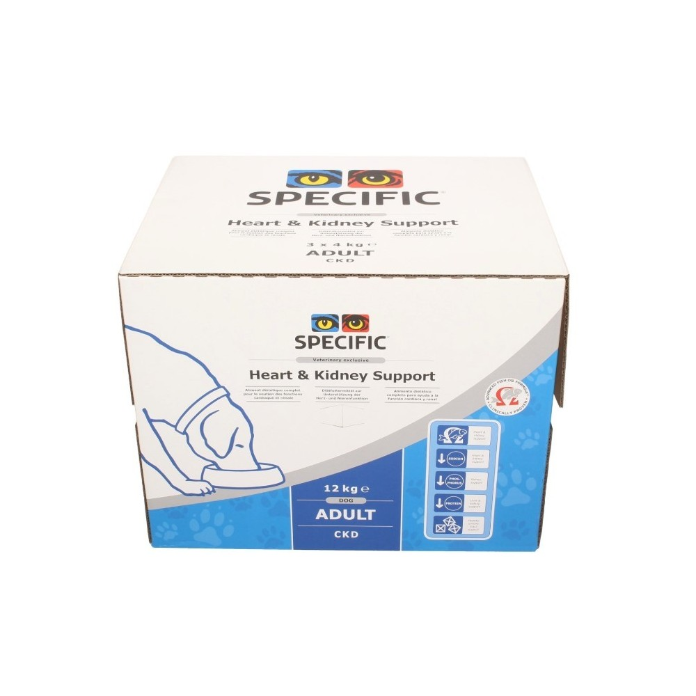 SPECIFIC CKD Heart & Kidney Support 12kg box